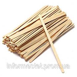 Vivienne Шпатель для депіляції дерев'яний вузький 100 шт