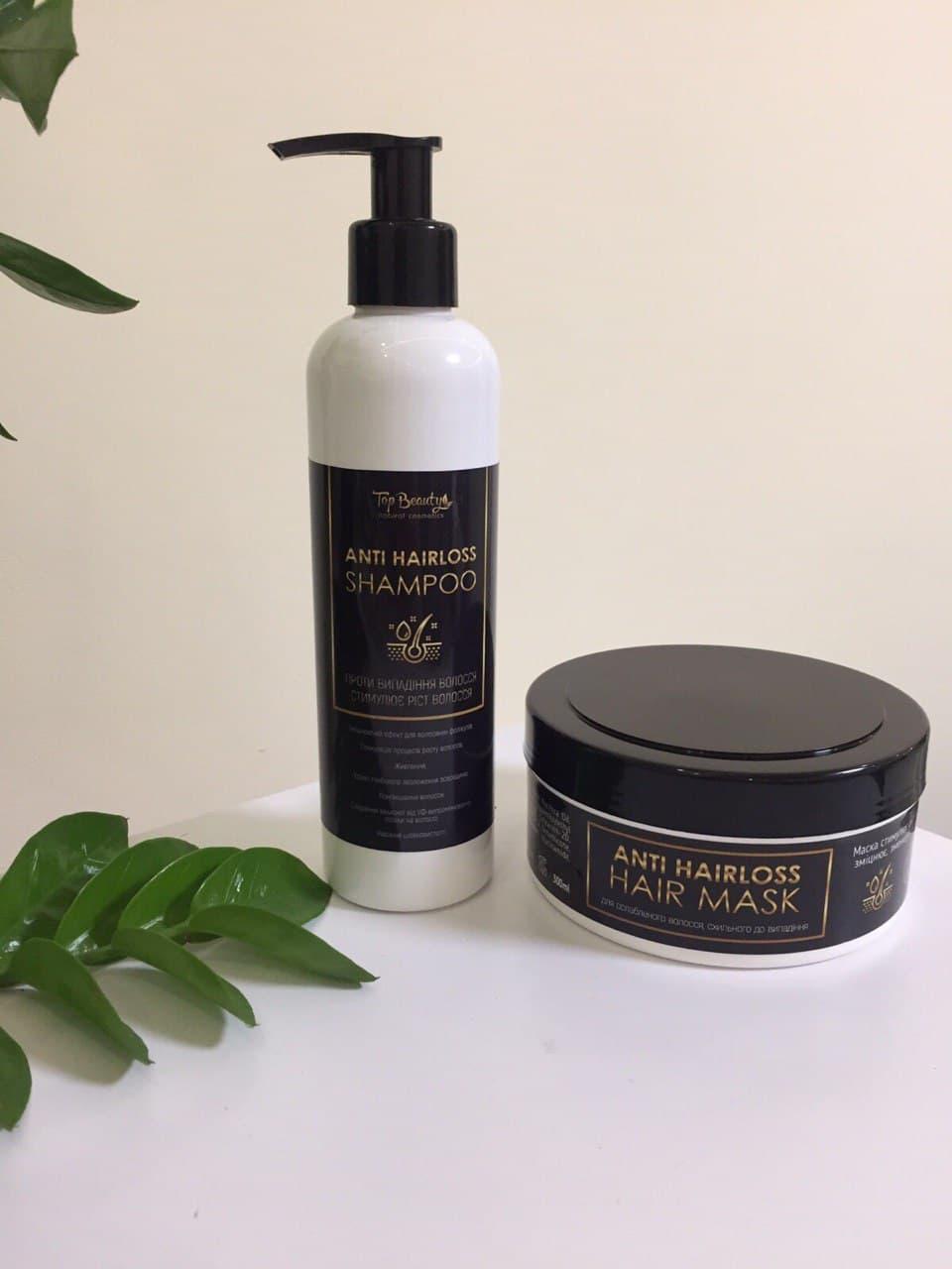 Шампунь против выпадения и для активного роста волос Top Beauty Shampoo Anti Hairloss 250 мл