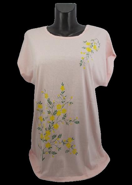 Женская футболка Mol Life ML101 3XL персиковая