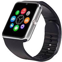Розумні годинник телефон Smart Watch Phone GT08 + подарунок навушники безпровідні TWS i12 MINI QualitiReplica