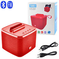 Bluetooth-колонка SPS UBL TG801, c функцією speakerphone, радіо, red, фото 1