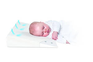 Подушка для младенцев Baby matex, ортопедическая 40*26 см с памятью aeroslim