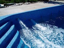 Форсунки в басейні бетонному