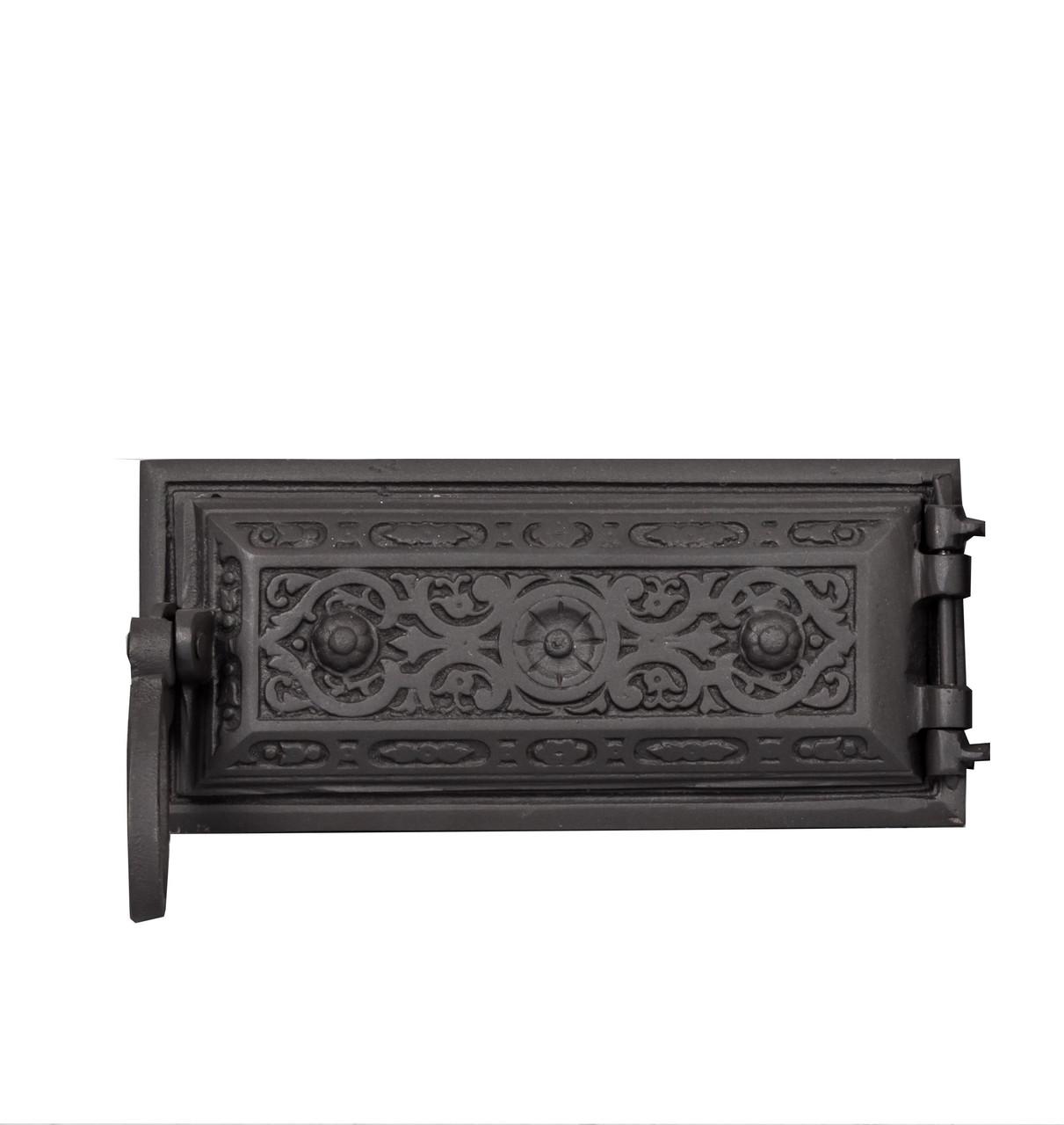 Зольні дверцята для печі з чавуну - Dunántúl 24 х 11 см/22 х 9см