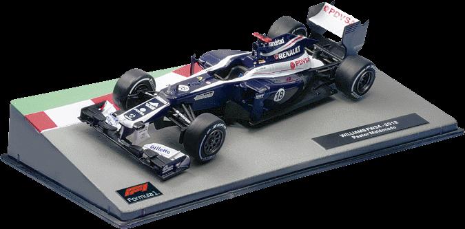 Formula 1 Auto Collection №55 - Williams FW34 - Пастор Мальдонадо 2012   Коллекционная модель 1:43   Centauria