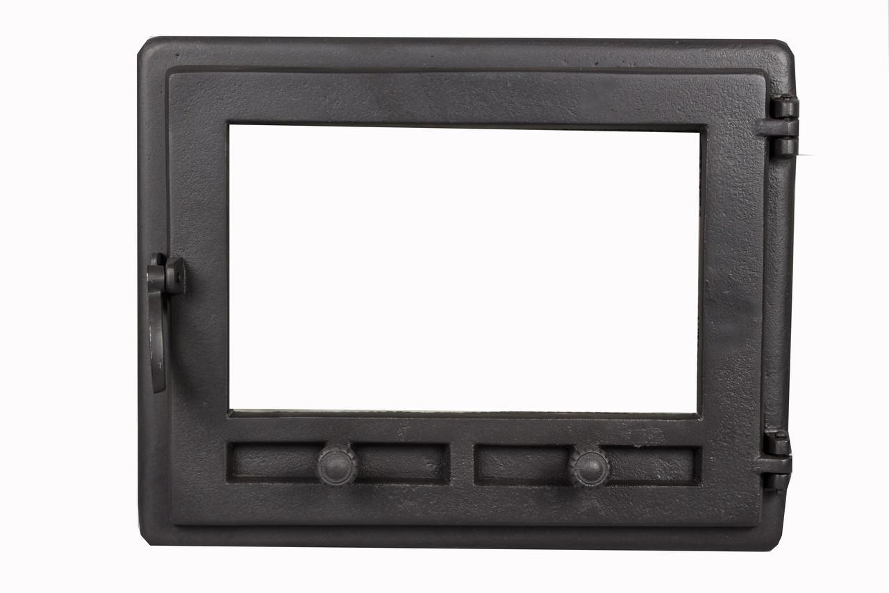 Чугунная печная дверца - VVK 48 х 36 см/ 42х32см