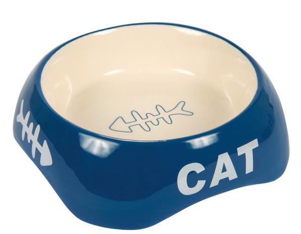 Миска для котів керамічна 0,2 л/13см, Trixie TX-24498