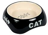 Миска для котів керамічна 0,2 л/13см, Trixie TX-24498, фото 2