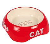 Миска для котів керамічна 0,2 л/13см, Trixie TX-24498, фото 3