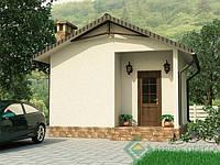 Каркасный дом недорого Баня