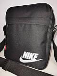 Чоловіча Барсетка NIKE сумка через плече для Оксфорд тканина Спортивні сумка тільки ОПТ, фото 3