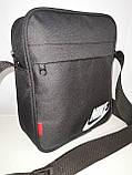 Чоловіча Барсетка NIKE сумка через плече для Оксфорд тканина Спортивні сумка тільки ОПТ, фото 2