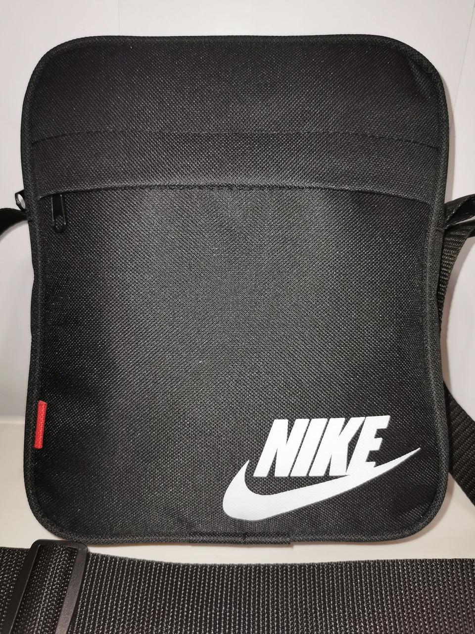 Чоловіча Барсетка NIKE сумка через плече для Оксфорд тканина Спортивні сумка тільки ОПТ