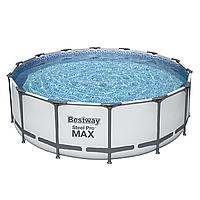 Каркасный бассейн Bestway 5612X (427х122) с картриджным фильтром, фото 1