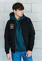 Мужская куртка-бомбер Staff top original черный
