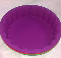 Силиконовая форма для бисквита рельефная