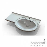Раковины Marmite Мебельная раковина Marmite Jeanette 750x445 01109072103 белый, скрыло справа