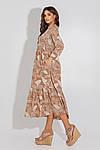 Женское платье, евро - софт, р-р 42; 44; 46; 48 (мокко), фото 2
