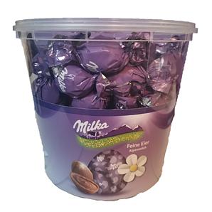 Пасхальні шоколадні яйця Milka з праліне, 900 г