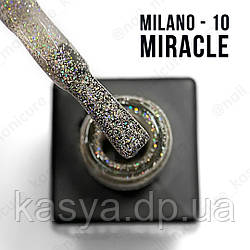 Гель лак Glame Miracle 8 Мл № 10
