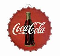 Крышка-плакат Кока кола