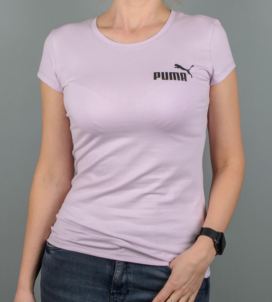 Футболка жіноча спортивна Puma (2108ж), Ліловий