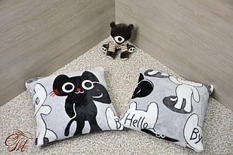 Подушка кошеня 40*40