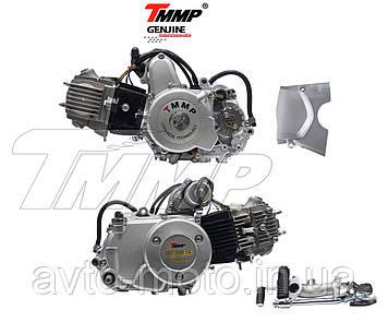 Двигун 110 см3 напівавтомат мопед Альфа/Дельта/Актив