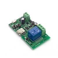 Sonoff Wi-Fi + RF 433 МГц модуль 5В (micro USB + клеммы) импульсным и перекидным управлением. Ewelink