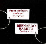 Комплект украшений BERNARDO BARETTI с кристаллами Swarovski в футляре из бархата (KU037), фото 7