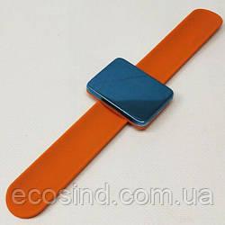 Магнитная игольница на (руку) запястье Sindtex оранжевая (СИНДТЕКС-0776-2)