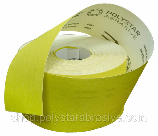 Наждачная бумага в рулоне 115 мм х 50 м ( P60 ) с бумажной основой