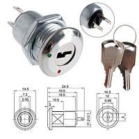 Ключ-выключатель переключатель электро замок c ключом для РЭА KS-02, 104705
