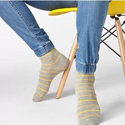 Эксклюзивные мужские носки V&T socks в полоску