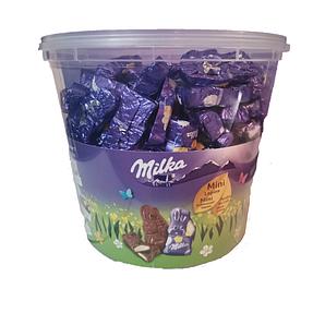 Шоколадні зайчики Milka з молочною начинкою, 1,5 кг
