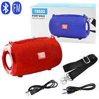 Bluetooth-колонка SPS UBL TG533, c функцією speakerphone, радіо, red, фото 1