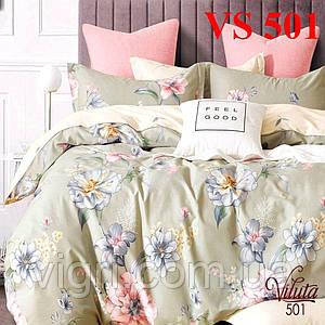 Постельное белье полуторка, сатин, Вилюта «Viluta» VS 501