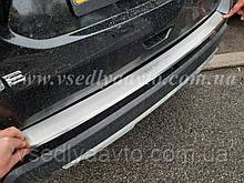 Накладка на бампер с загибом Nissan Rogue с 2013-2020 гг.