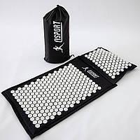 Массажный коврик и подушка (аппликатор Кузнецова) массажер для спины/шеи/тела OSPORT Lotus Mat Eco (apl-020)