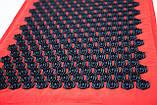 Массажный коврик Аппликатор Кузнецова + массажная подушка массажер для шеи OSPORT Lotus Mat Eco (apl-020), фото 3