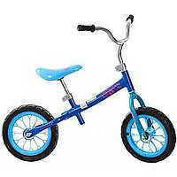 "Беговел детский 12"" колеса Eva, 83 х48х65см, голубой, в коробке (1) №M3255-2"