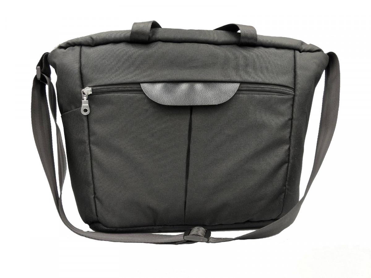 Сумка органайзер Foofoo черная универсальная для коляски, для путешествий