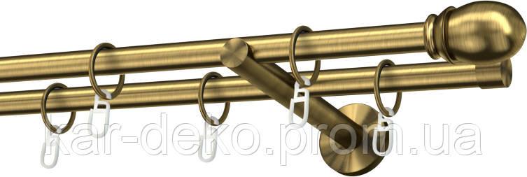 Карниз металлический потолочный 33
