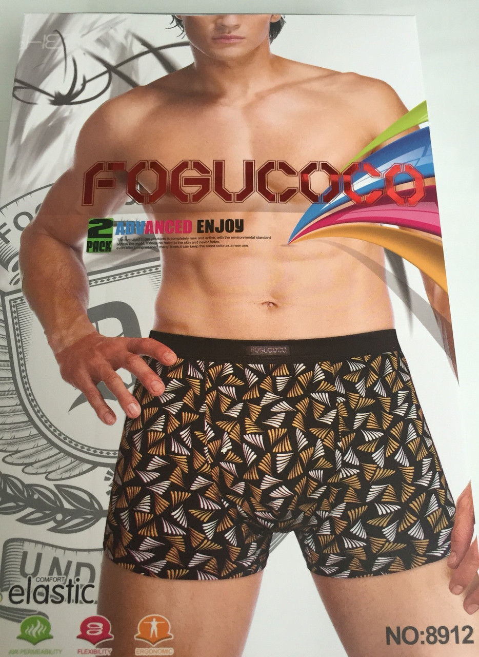 """Чоловічі Боксери Стрейчеві Марка """"FOGUCOCO"""" Арт.8912"""