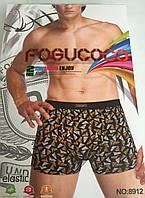 """Мужские Боксеры Стрейчевые Марка """"FOGUCOCO"""" Арт.8912"""
