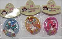 Набор 331 детской бижутерии (браслет пластиковый +заколка металл 2шт) уп10