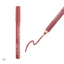 Матовая помада-карандаш для губ Violet № 004 Peony Kod207