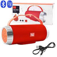 Bluetooth-колонка SPS UBL TG501, c функцією speakerphone, радіо, red, фото 1