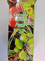 Darshan Кокос Ваниль Персик Сoconut Vanilla Peach Ароматические угольные палочки Благовония Шестигранник