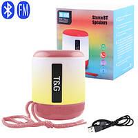 Bluetooth-колонка SPS UBL TG156, c функцией speakerphone, радио, pink, фото 1